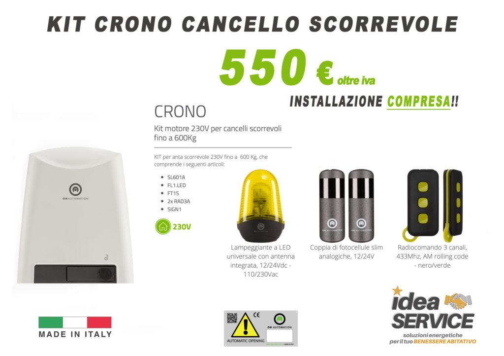 Offerta Cancelli scorrevoli - idea service