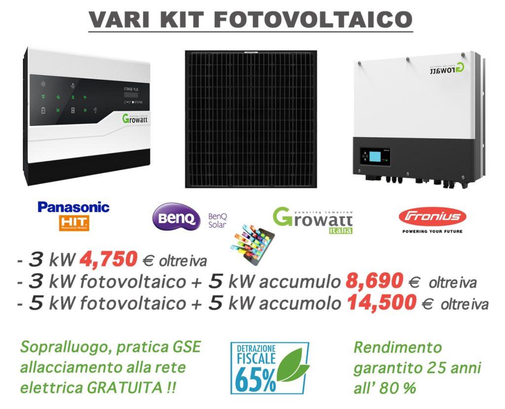 kit fotovoltaico - promozione maggio 2019