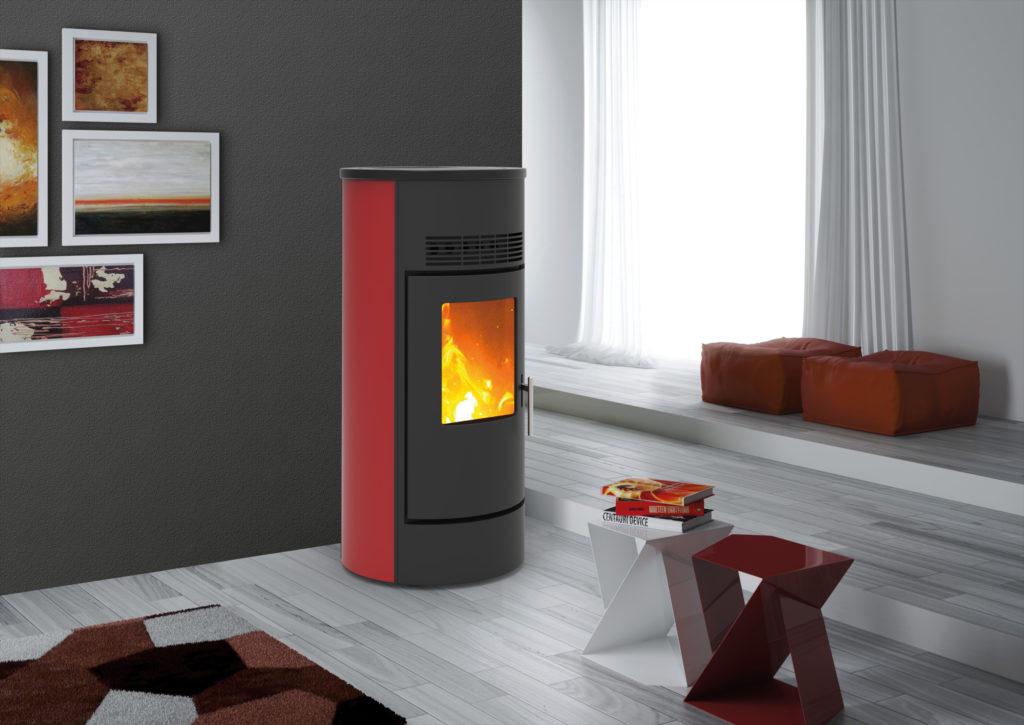 Minerva-acciaio-rosso-idea service
